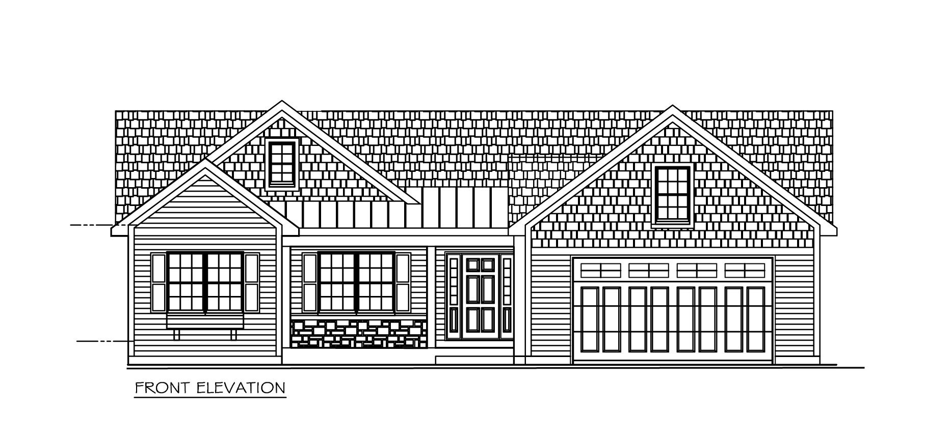 Eldridge project 10 front elevation